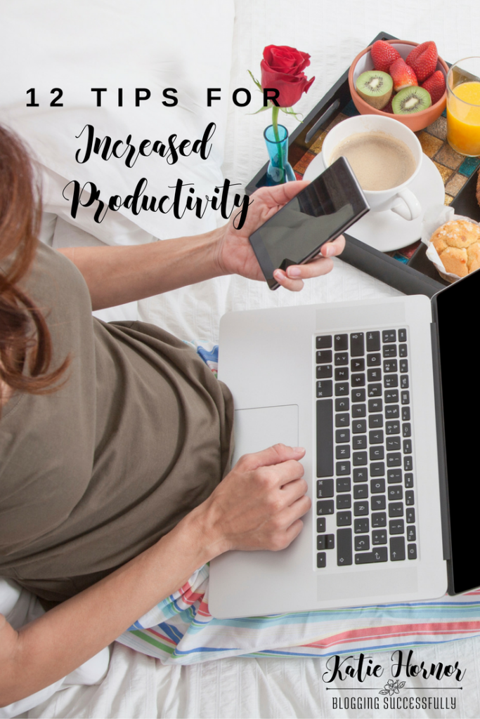 12 Tips for Increased Productivity, bloggingsuccessfully.com