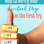 How to Verify Your Facebook page on the First Try (free Checklist) via BloggingSuccessfully.com