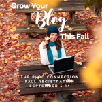 Celebrate your story: Grow your blog this fall