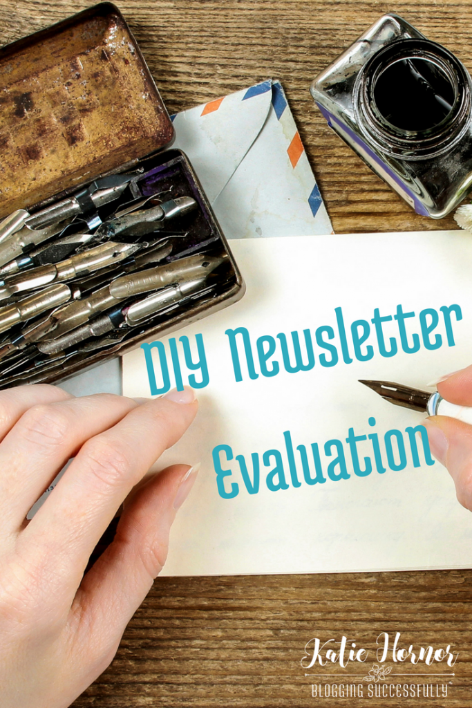 A DIY Newsletter Evaluation Plan via BloggingSuccessfully.com