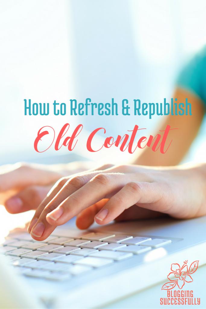 How to Update Old Content via handprintlegacy.com