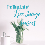 The Mega LIst of Free Image Sources