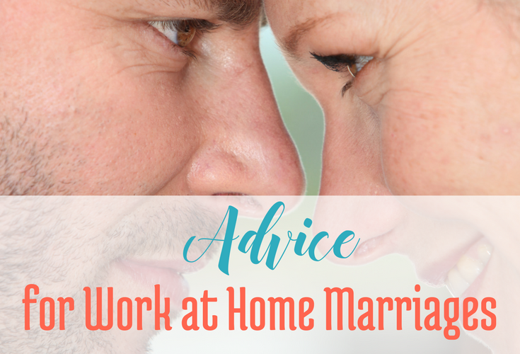 Advice for Work at Home Marriages via BloggingSuccessfully.com