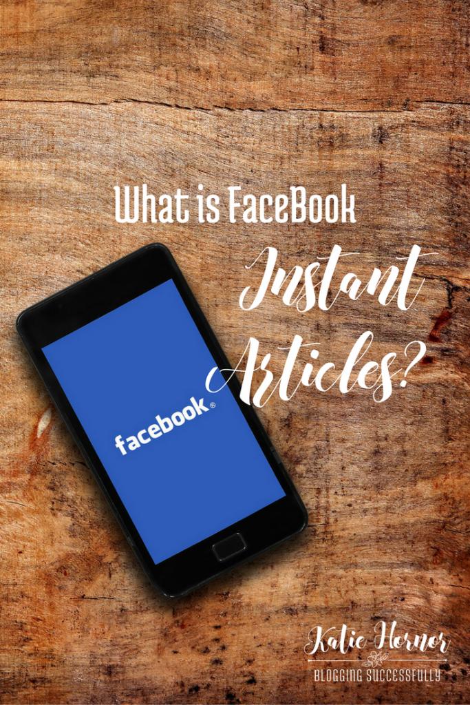 What is Facebook Instant Articles? via handprintlegacy.com