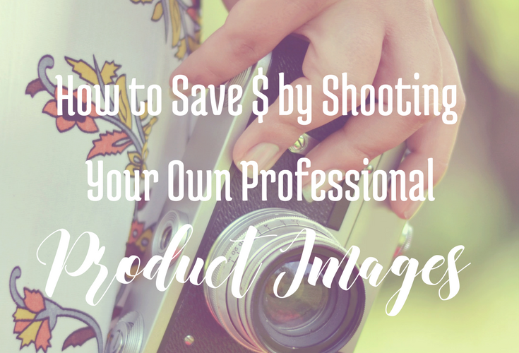 How to Save Money by Shooting Your Own Professional Product Images via BloggingSuccessfully.com