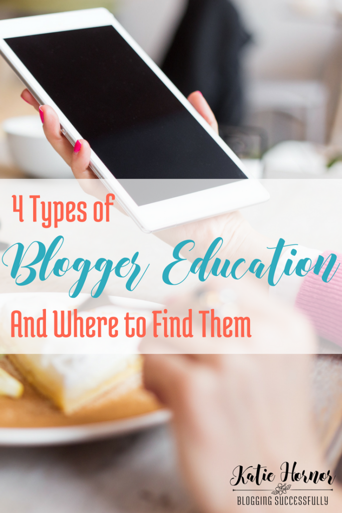 4 Types of Blogger Education and Where to Find Them via handprintlegacy.com