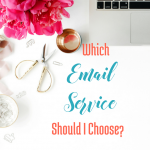 Which Email Service Should I Choose? via bloggingsuccessfully.com