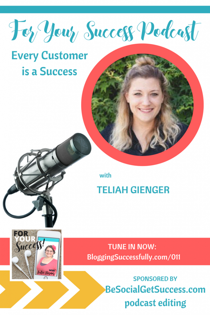 Teliah Gienger, For Your Success Podcast