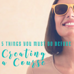 5 things you must do before creating a course, bloggingsuccessfully.com