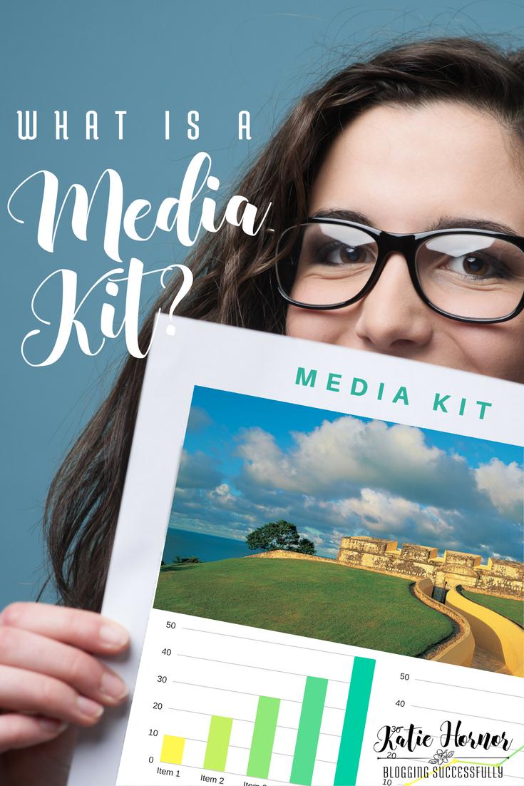 What is a Blogger Media Kit? via handprintlegacy.com