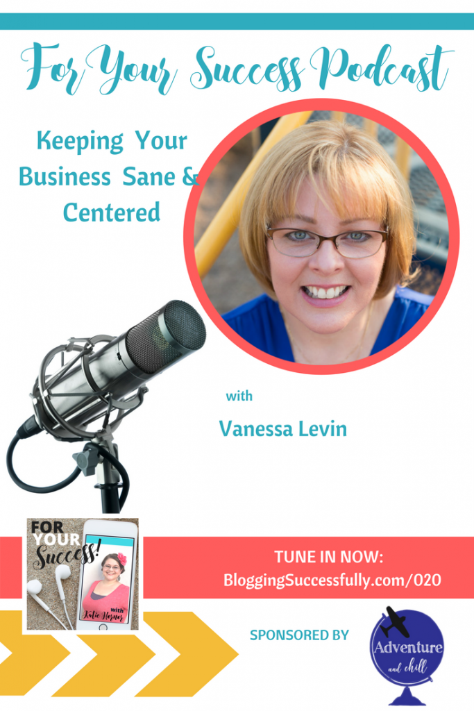 Vanessa Levin: ForYourSuccess podcast 020