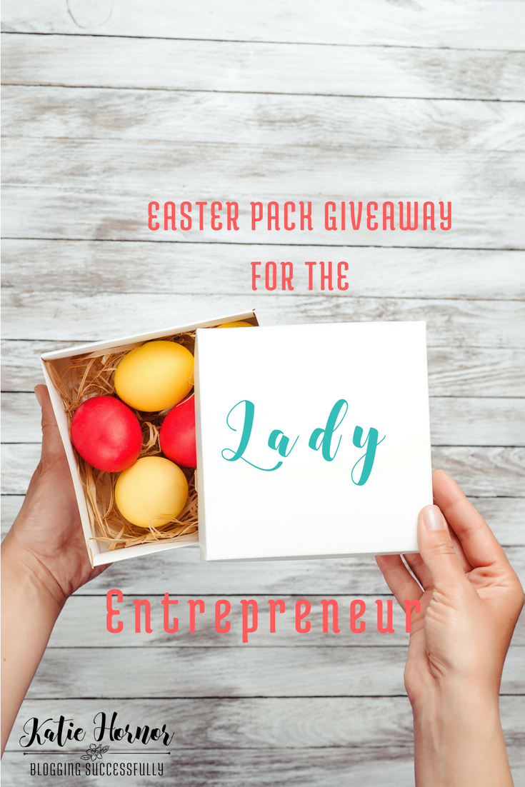 Easter Pack Giveaway for the Lady Entrepreneur via bloggingSUCCESSfully.com ends 4/12/17