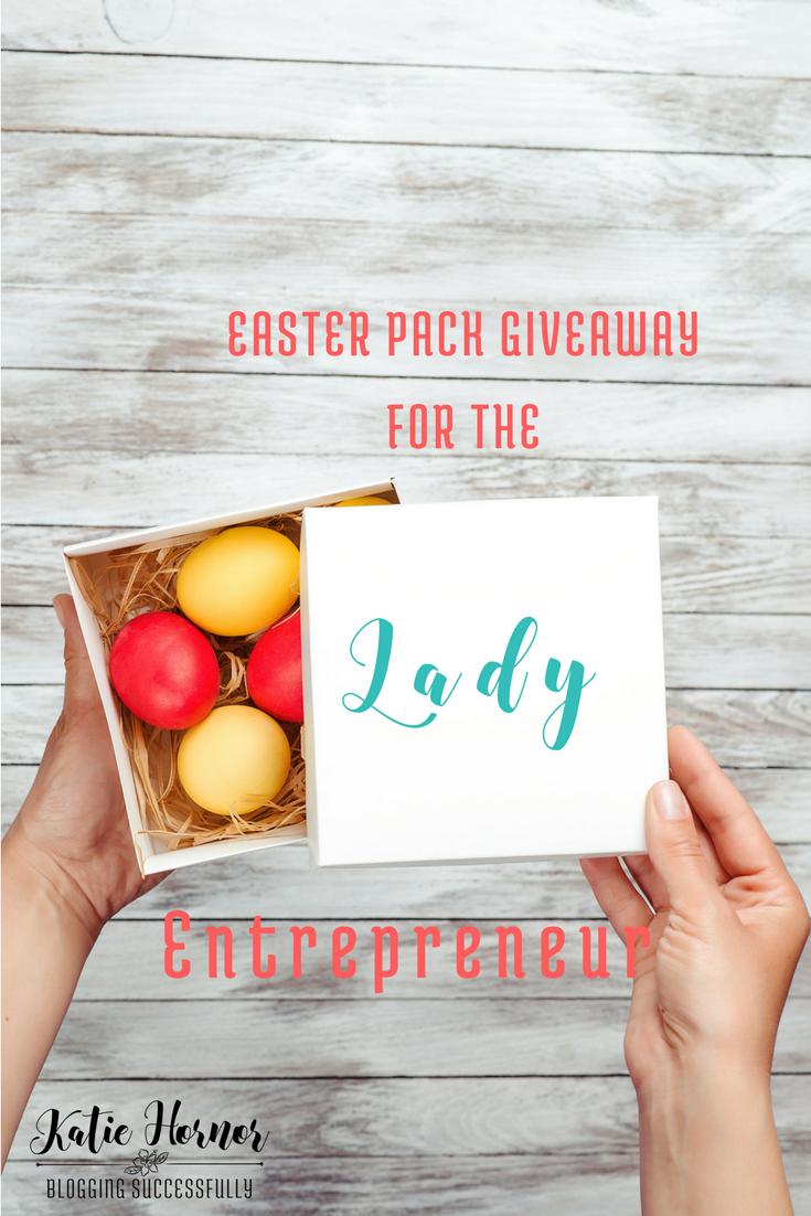 Easter Pack Giveaway for the Lady Entrepreneur via bloggingSUCCESSfully.com ends 4/12/17