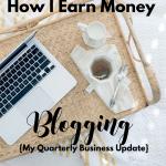 How I earn money with my blogs via BloggingSuccessfully.com