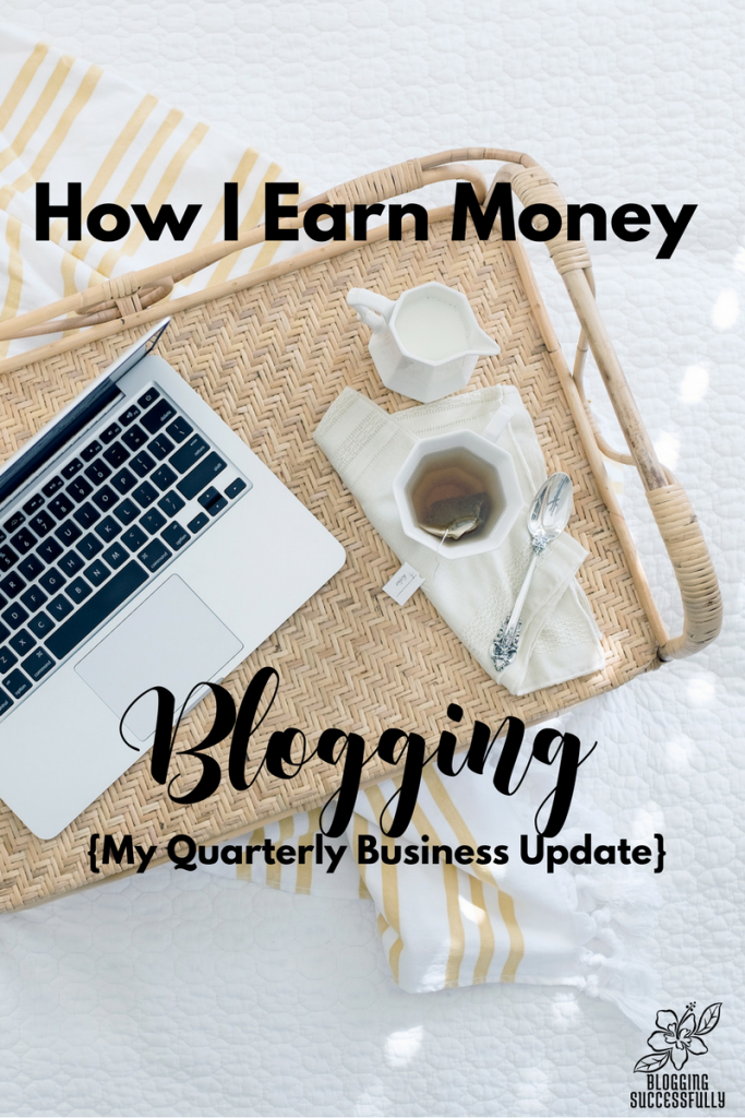 How I earn money with my blogs via BloggingSuccessfully.com
