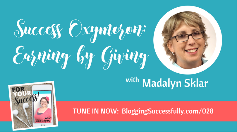Madalyn Sklar on the For Your Success! podcast