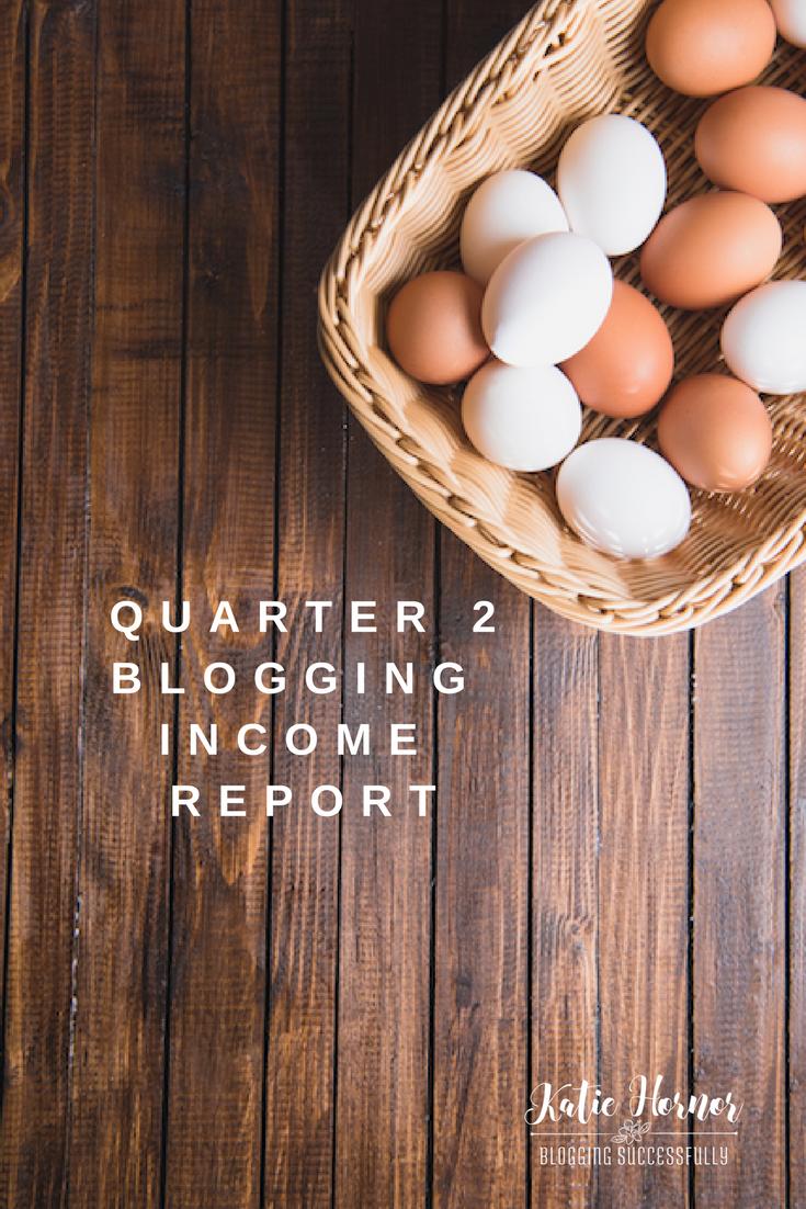 quarter 2 blog income report