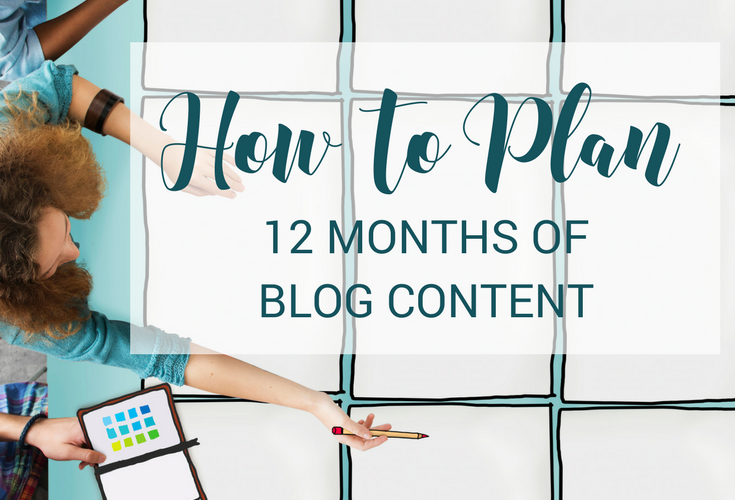How to Plan 12 Months of Promotional Blog Content
