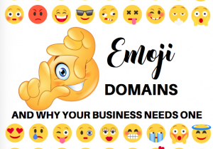 emoji domain names, bloggingsuccessfully.com