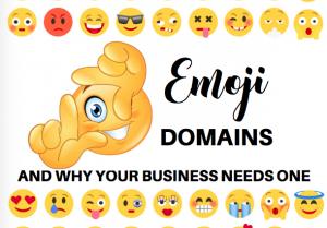 emoji domain names, bloggingsuccessfully.com