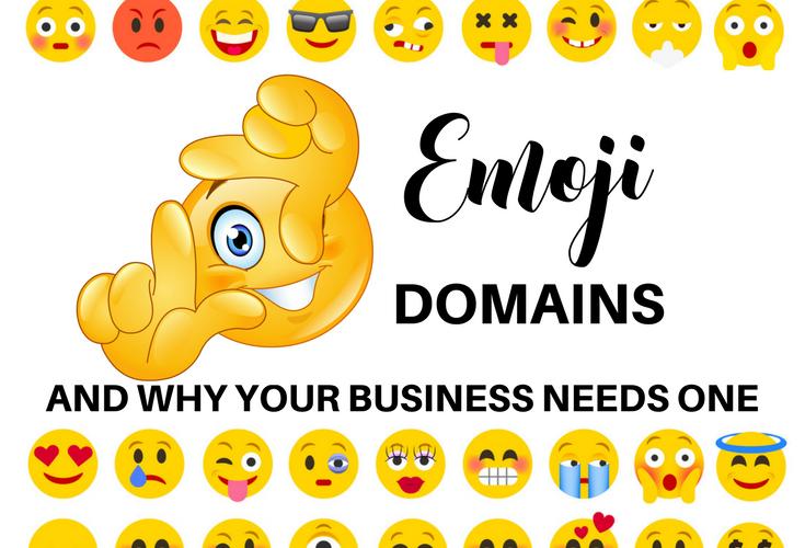 emoji domains and why you need one, handprintlegacy.com