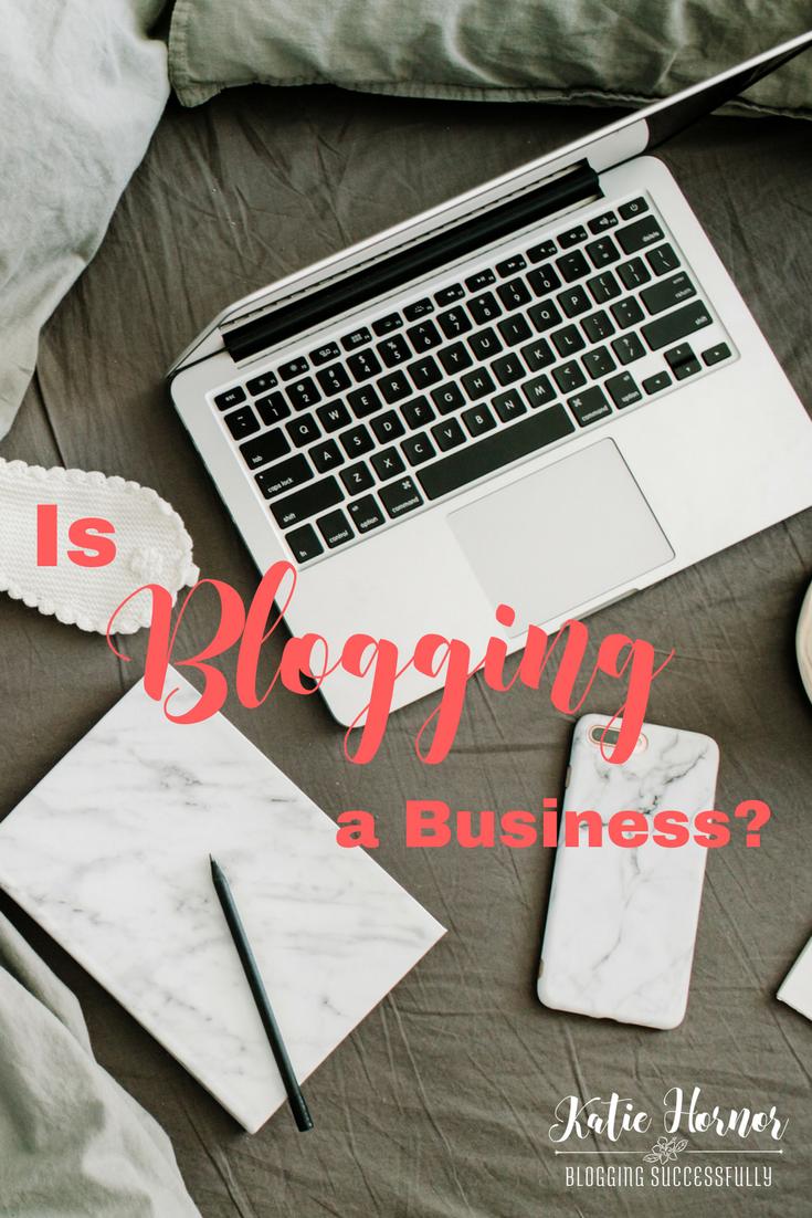 is blogging a business? handprintlegacy.com