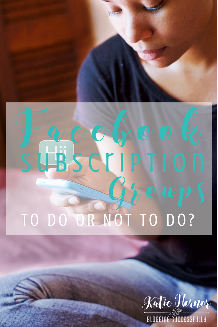 facebook subscription groups