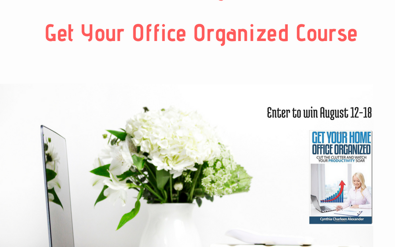 3 Ways to Create a More Productive Office Space (& a Giveaway)