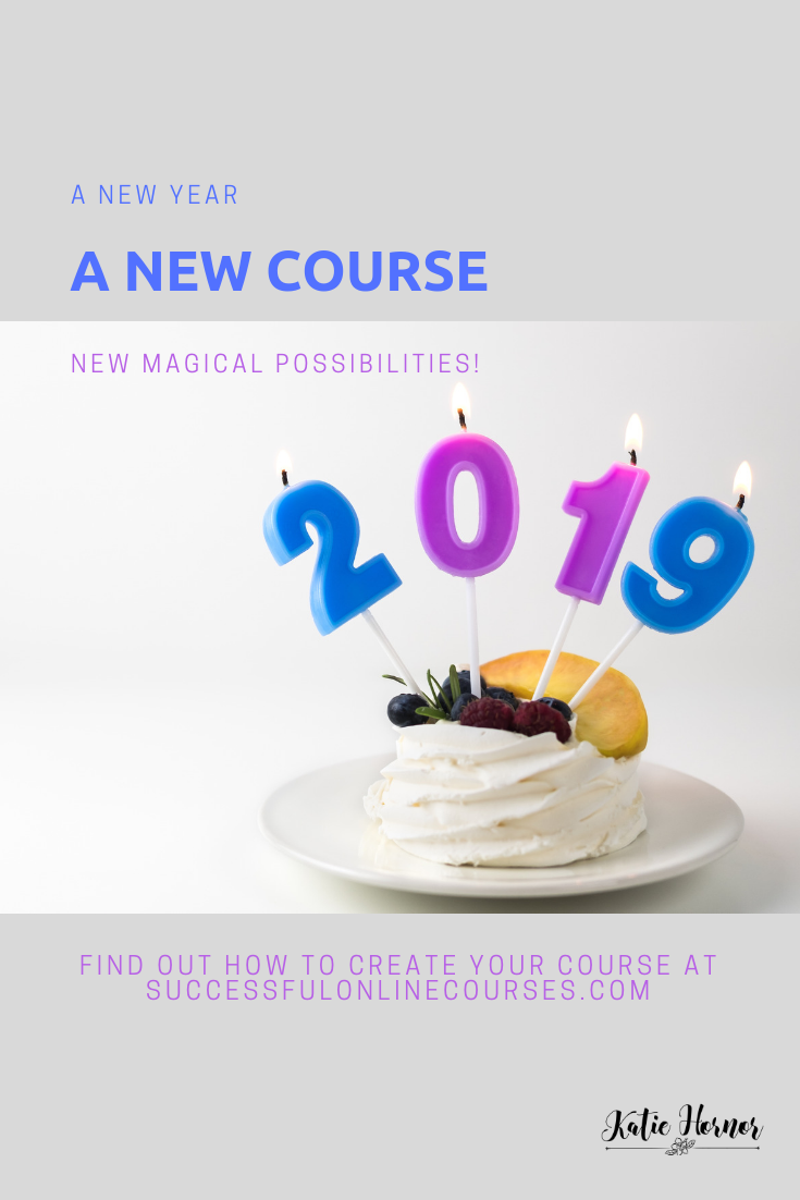 create a course with Successful online courses with Katie Hornor