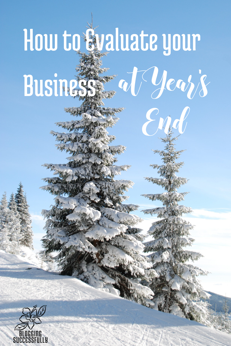How to EVALUATE your business at year's end: A step by step guide, by handprintlegacy.com