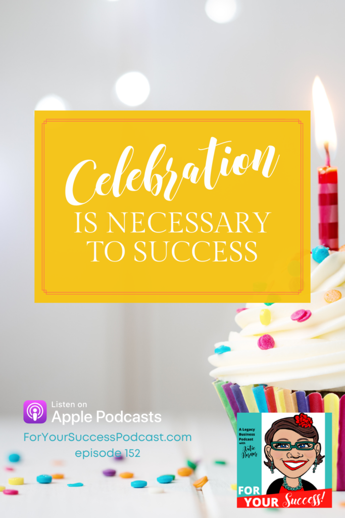 celebration is necessary cupcake on table business prosperity and failure