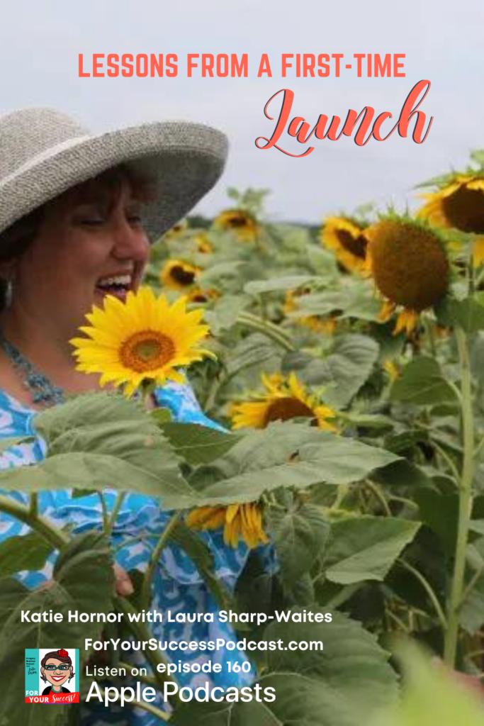 Laura Sharp Waites in sunflower field