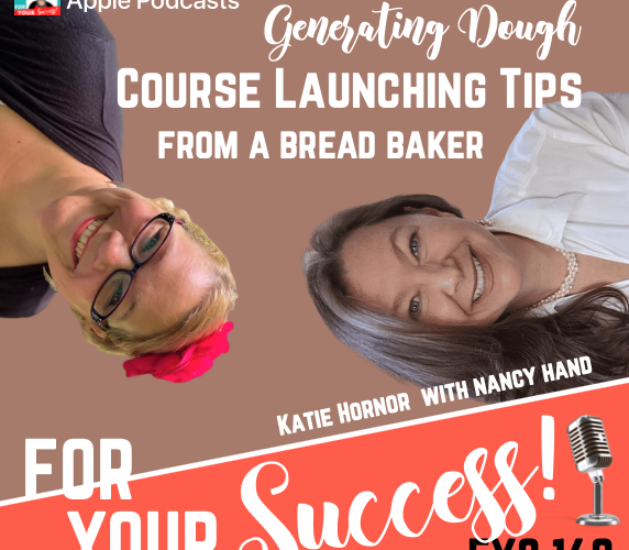 best way to launch a course Katie Hornor and Nancy Hand